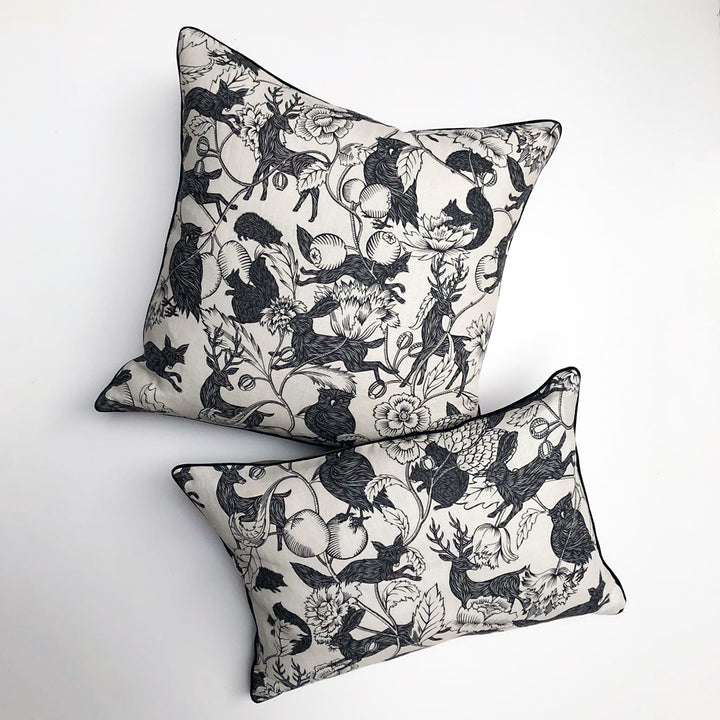 PATCH  NYC x Antoinette Poisson Twilight Black & White Pillows