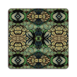 PATCH NYC Blue Bouquet Square Table Mat {AVSTMBB}