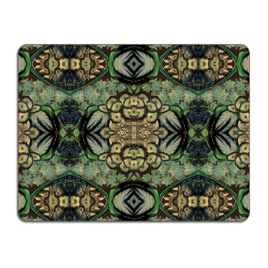 PATCH NYC Blue Bouquet Table Mat {AVLTMBB}