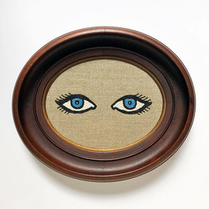 Carmella Carney Needlework Blue Eyes