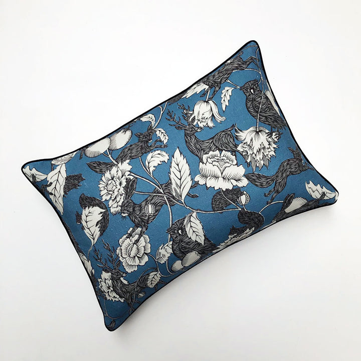 PATCH  NYC x Antoinette Poisson Twilight Blue Pillow