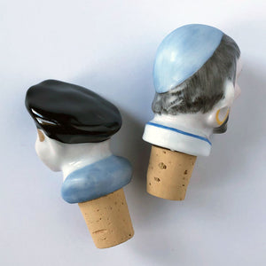 Captain & Pirate Bottle Stoppers
