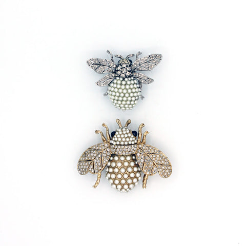 Pearl Insect Pins {P135P/P142PE}