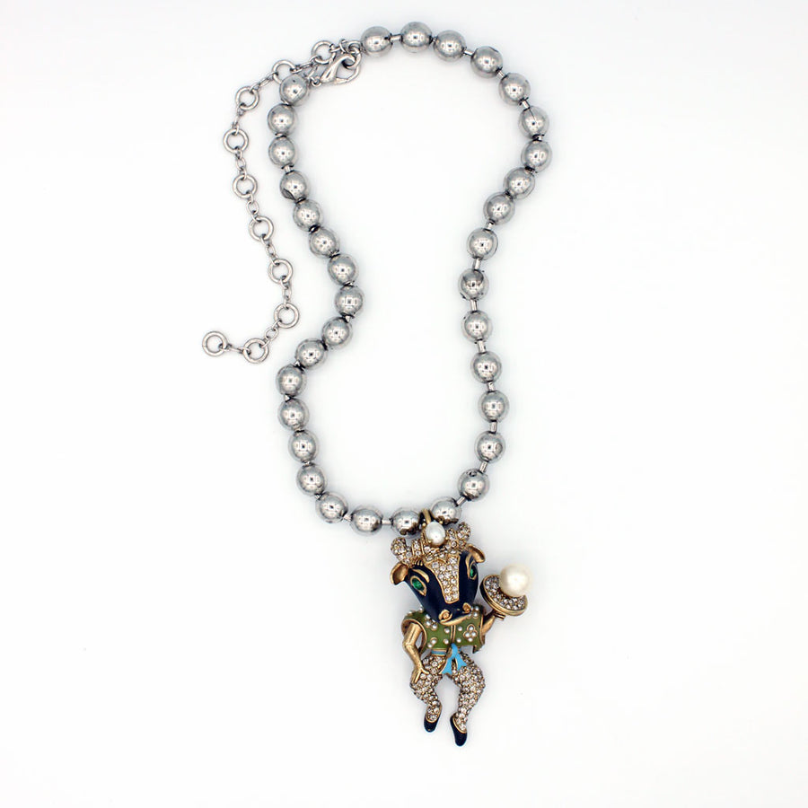Bull Man Necklace {P122NE}