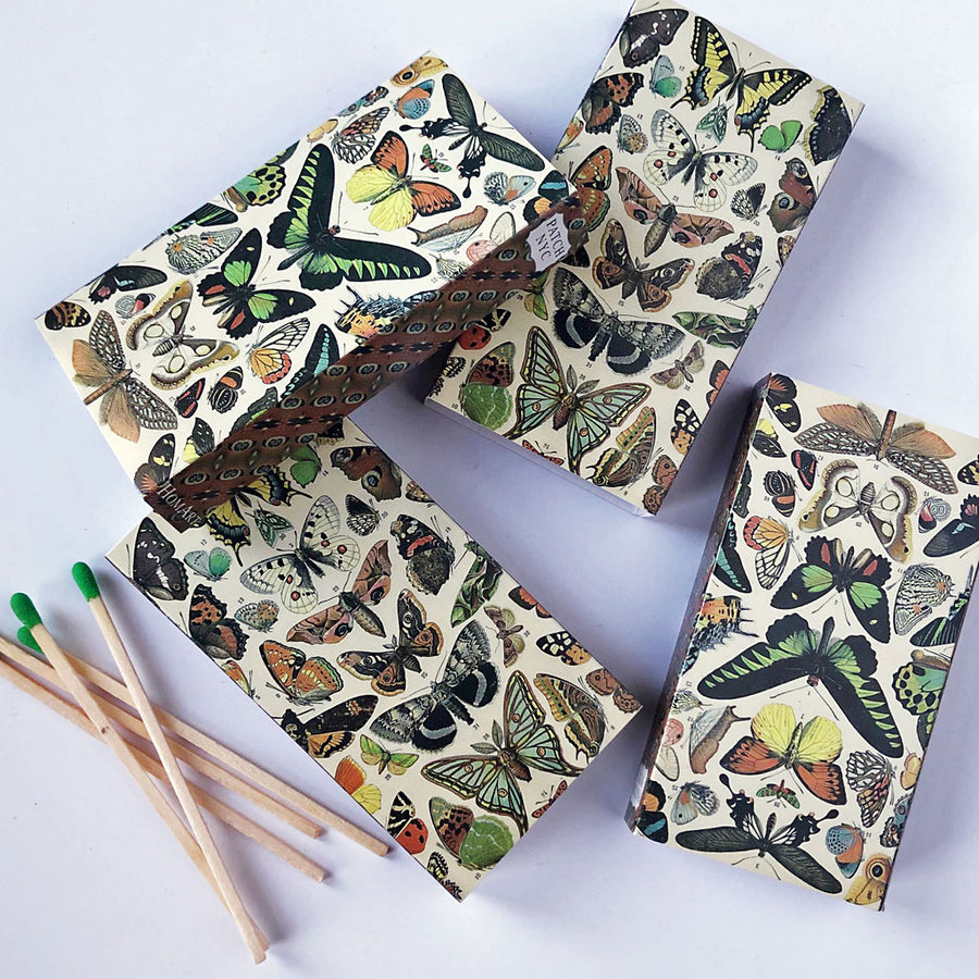 Butterfly Matches (pack of 4 boxes)