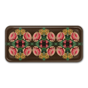 PATCH NYC Cabbage Rose Small Rectangle Tray {AVSRETRCR}