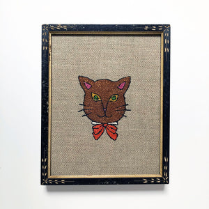 Carmella Carney Needlework Cat