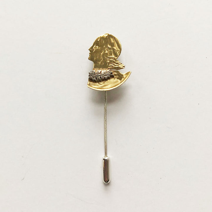Centime & Wreath Stick Pin
