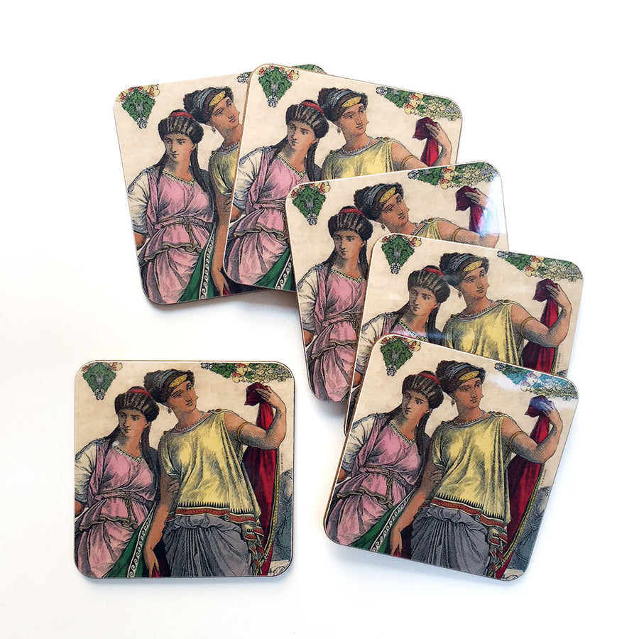 PATCH NYC Nymph Coaster Set {AVCN}