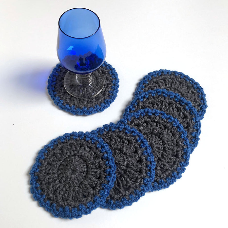 Crochet Coaster Set of 6