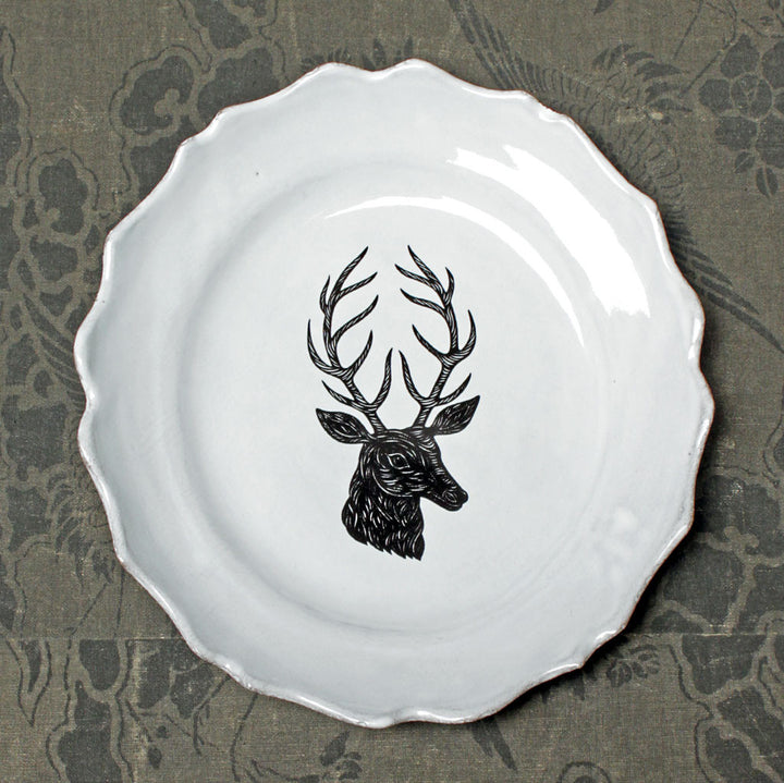 Deer Medium Plate {ASPPTC16}