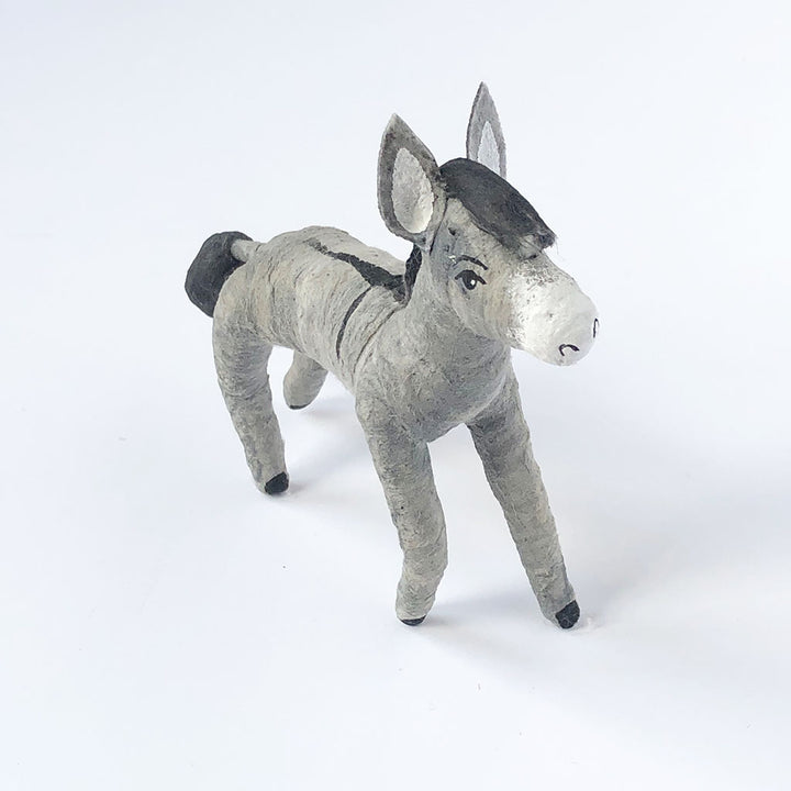 Vintage by Crystal Donkey Figurine