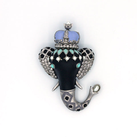 Royal Elephant Pin {P151PE}