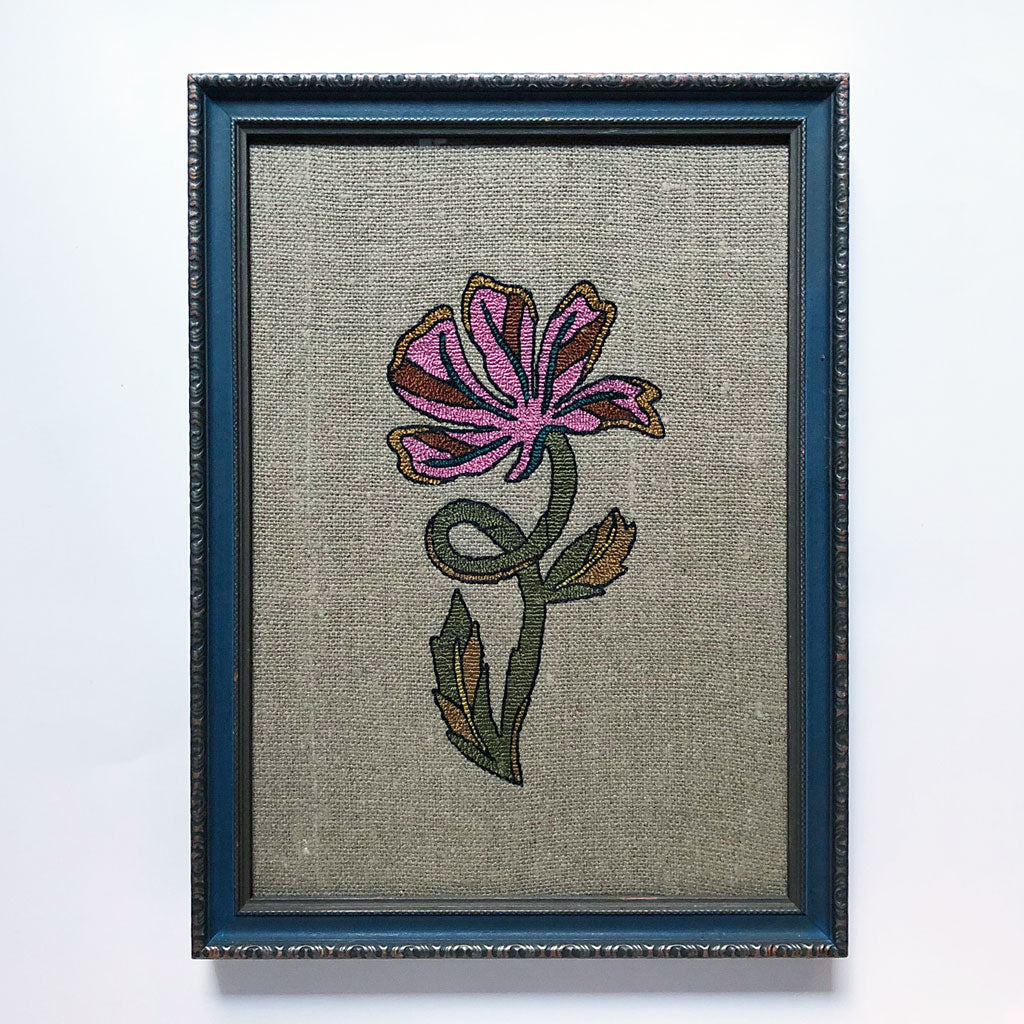 Carmella Carney Needlework Flower