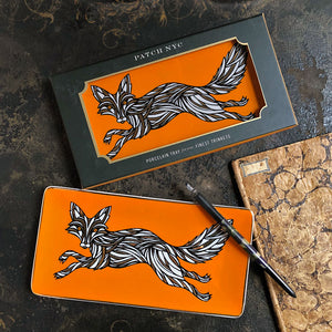 PATCH NYC Fox Porcelain Tray {10182}