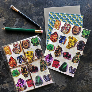 PATCH NYC Gems & Minerals Notecard Set