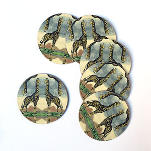 PATCH NYC Giraffe Coaster Set {AVCG}