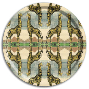 PATCH NYC Giraffe Round Tray {AVROTRG}