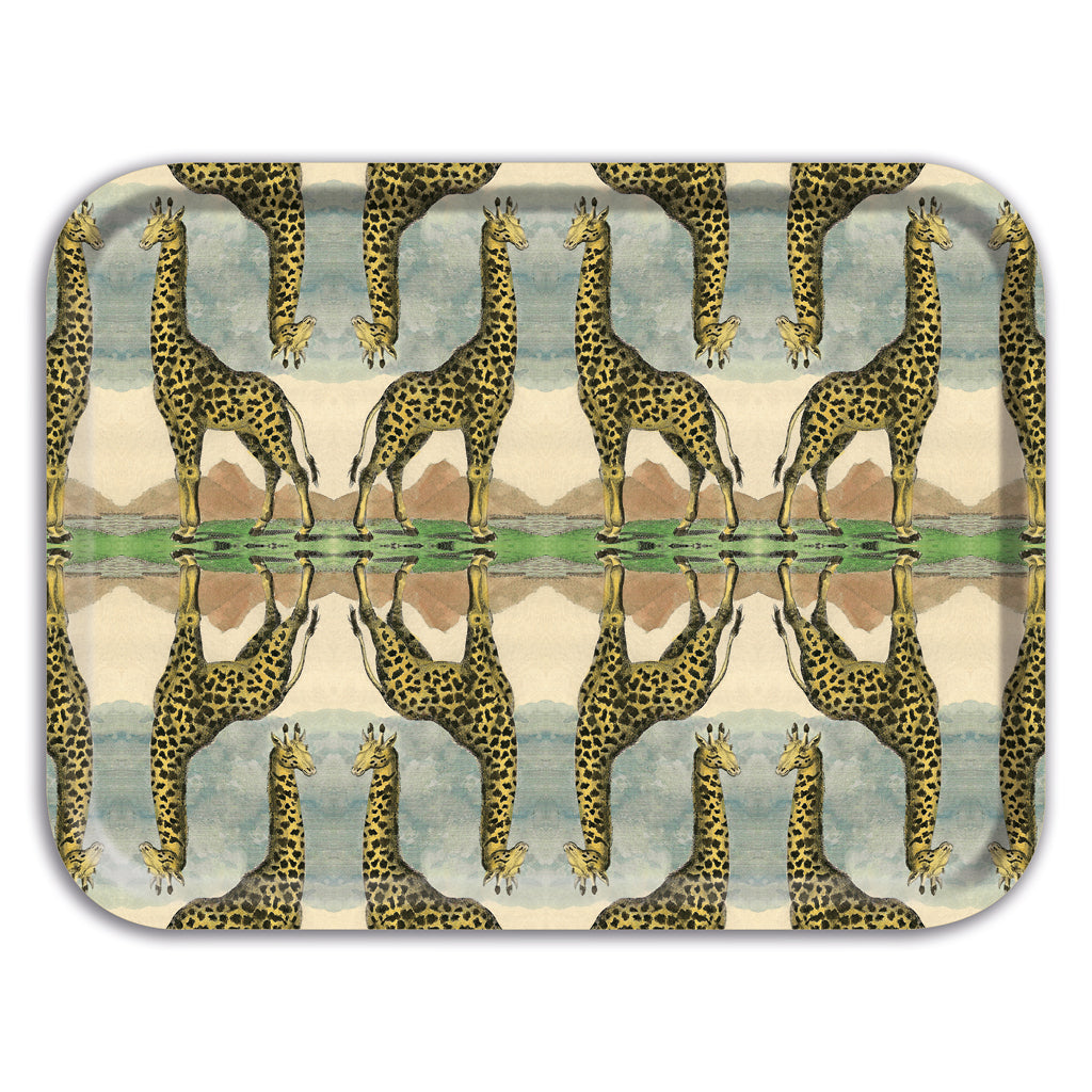 PATCH NYC Giraffe Rectangle Tray {AVLRETRG}