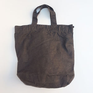Washed Linen Grey Tote {PT002}