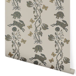 Fable (French Gray) Wallpaper
