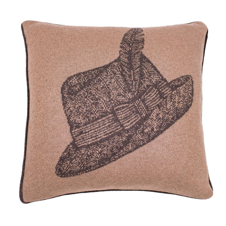 Fedora Camelhair Pillow