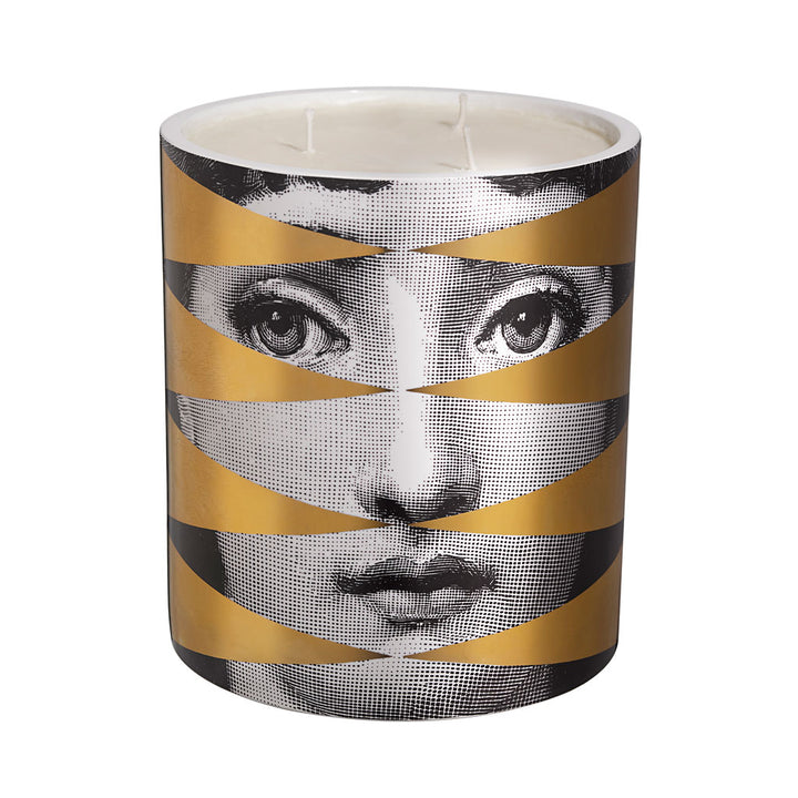Fornasetti Losange (gold) Candle