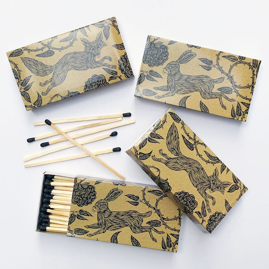 Folktale Matches (pack of 4 boxes)