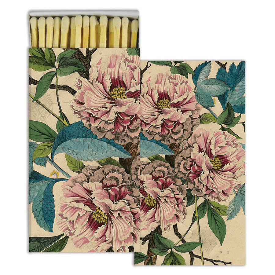 Peony Matches (pack of 4 boxes)