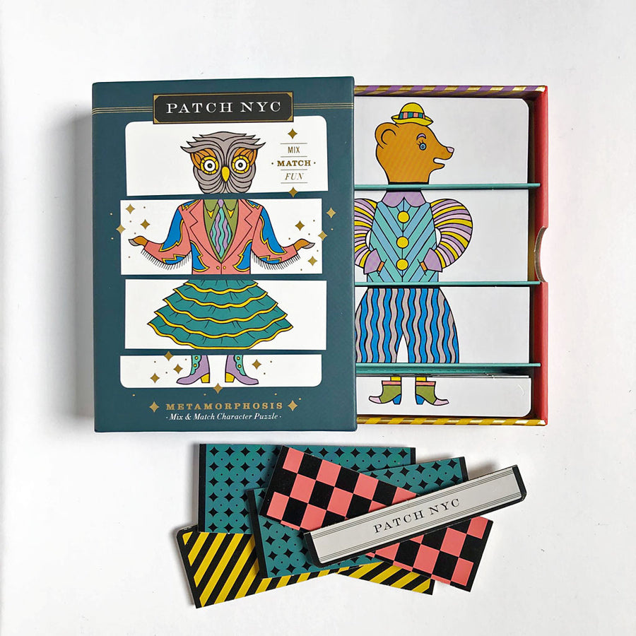 PATCH NYC Metamorphosis Mix & Match Game {8192}