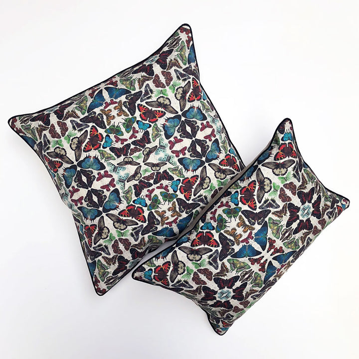 Mixed Butterfly Ephemera Pillow {EPH01}