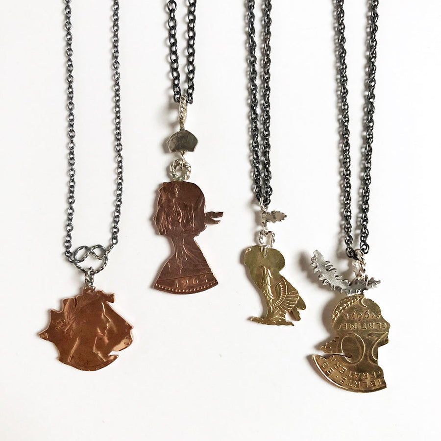 Silhouette Necklaces