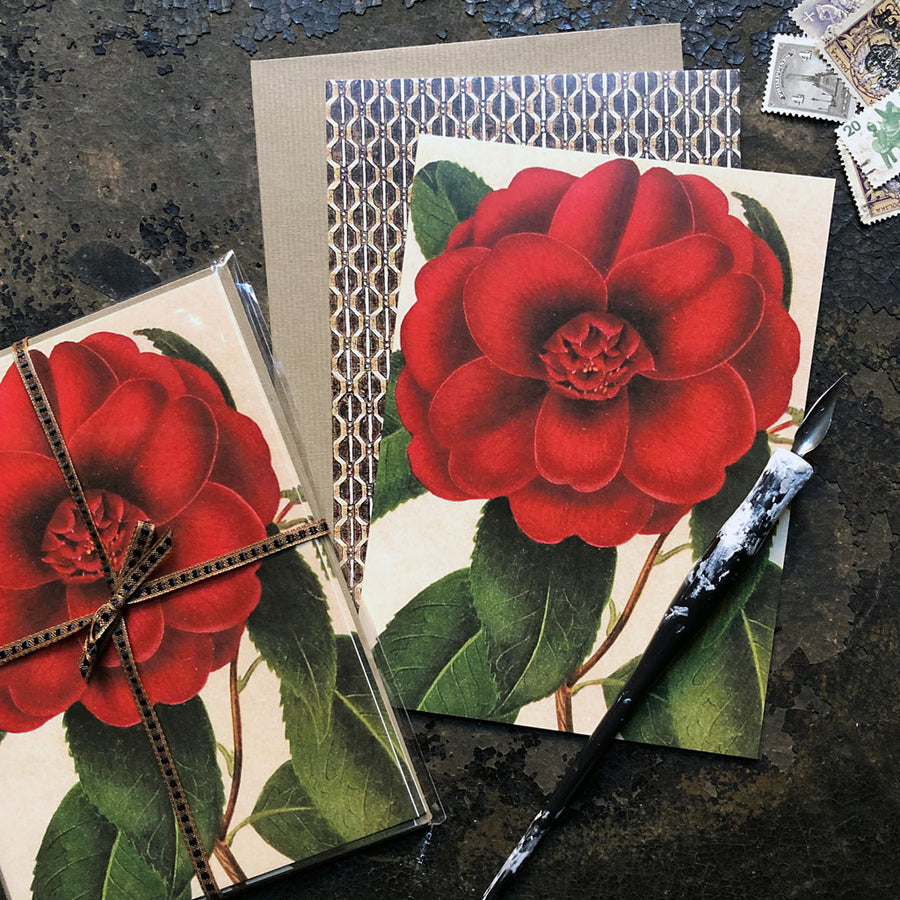 PATCH NYC Camellia Notecard Set