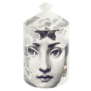 Fornasetti Nuvola (gold) Candle with Lid