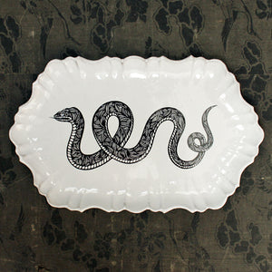 Large Serpent Platter {PLTPTC07}