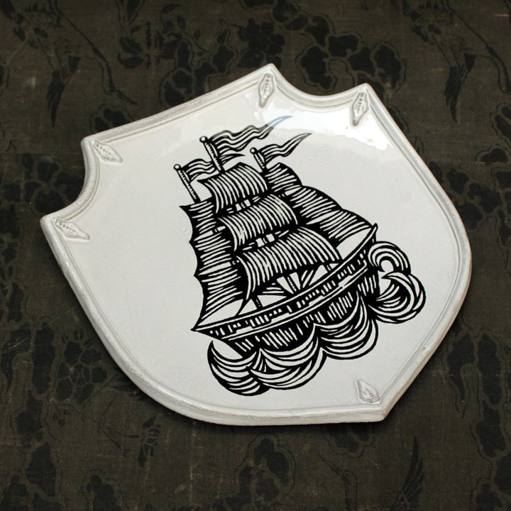 Ship Shield Platter {PLTPTC13}