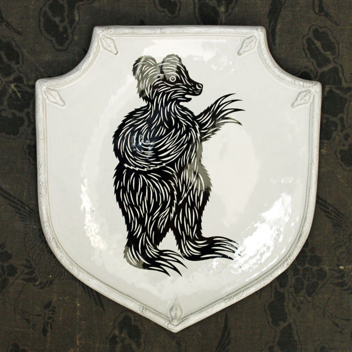 Bear Shield Platter {PLTPTC19}