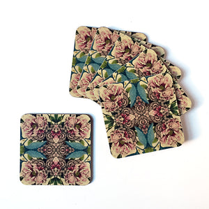 PATCH NYC Peony Coaster Set {AVCPE}