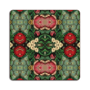PATCH NYC Pink Bouquet Square Table Mat {AVSTMPB}