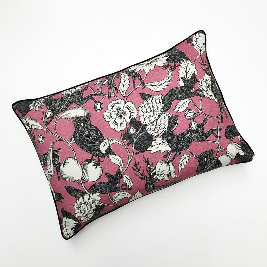 PATCH  NYC x Antoinette Poisson Twilight Pink Pillow