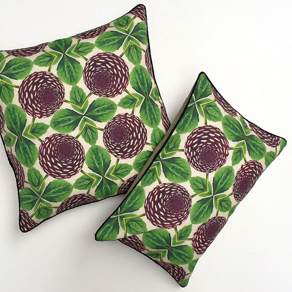 Dahlia Flora Pillow {FL102}