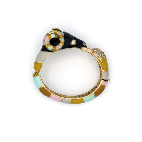 Ram Head Bangle {P103BE}