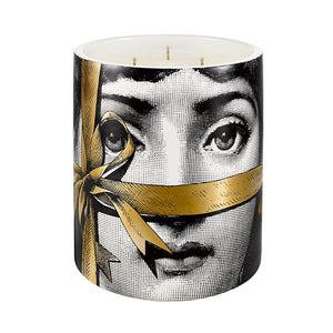 Fornasetti Regalo Gold Candle Medium or Large