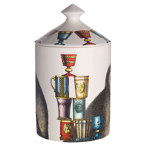 Fornasetti Scimmie Candle with Lid