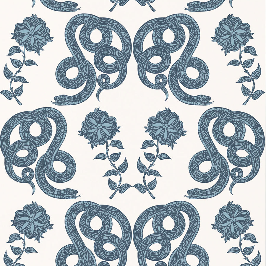 Serpentine (Chinoiserie) Wallpaper