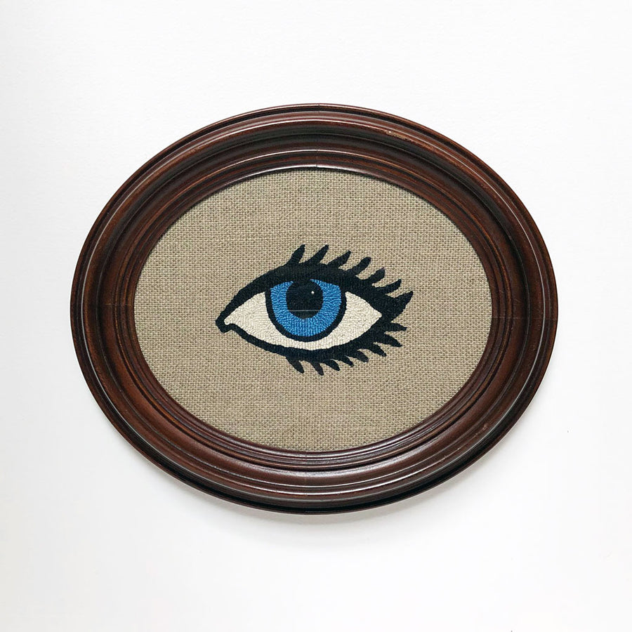 Carmella Carney Needlework Single Blue Eye