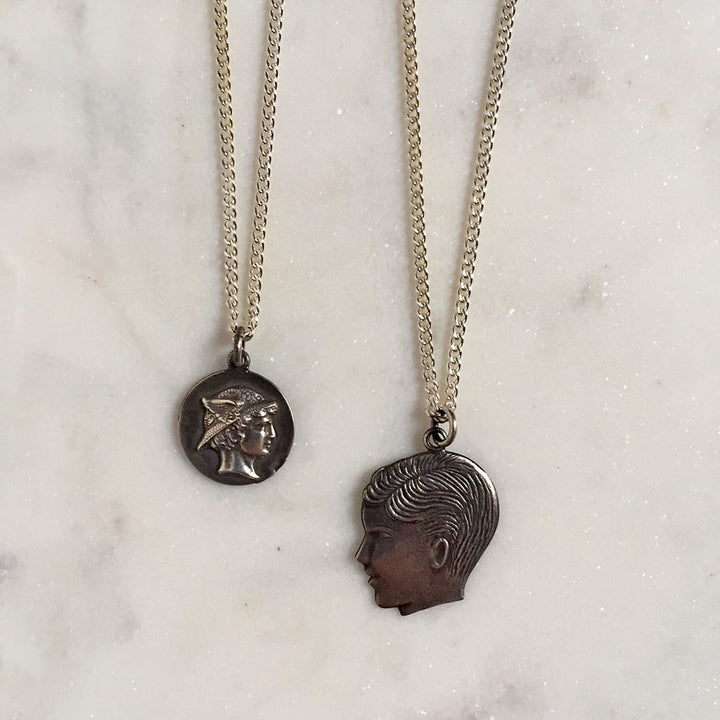 Mercury & Boy Necklace {CCN05}