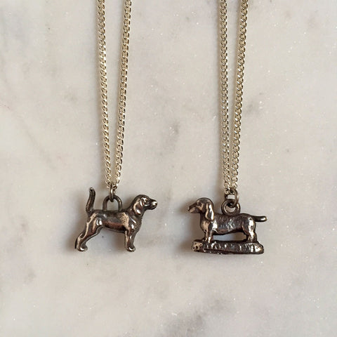 Labrador & Dachshund Necklace {CCN06}