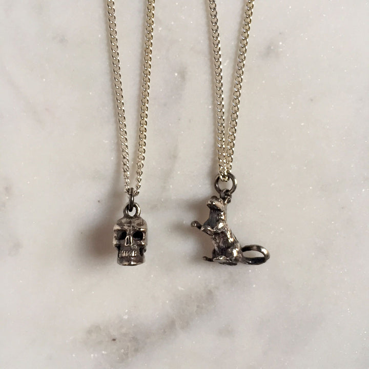Skull & Rat Necklace {CCN07}