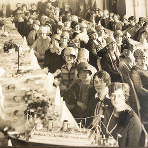 Ladies Banquet Photograph Vintage Art